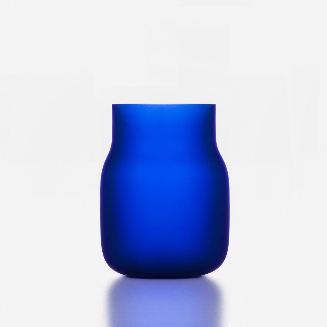 Big_cobalt_Bandaska vase_DECHEM